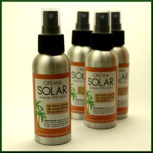 Crema protectora solar