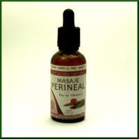 Aceite para masaje perineal
