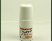 Desodorante Natural a base de Alumbre y aroma de Cítricos